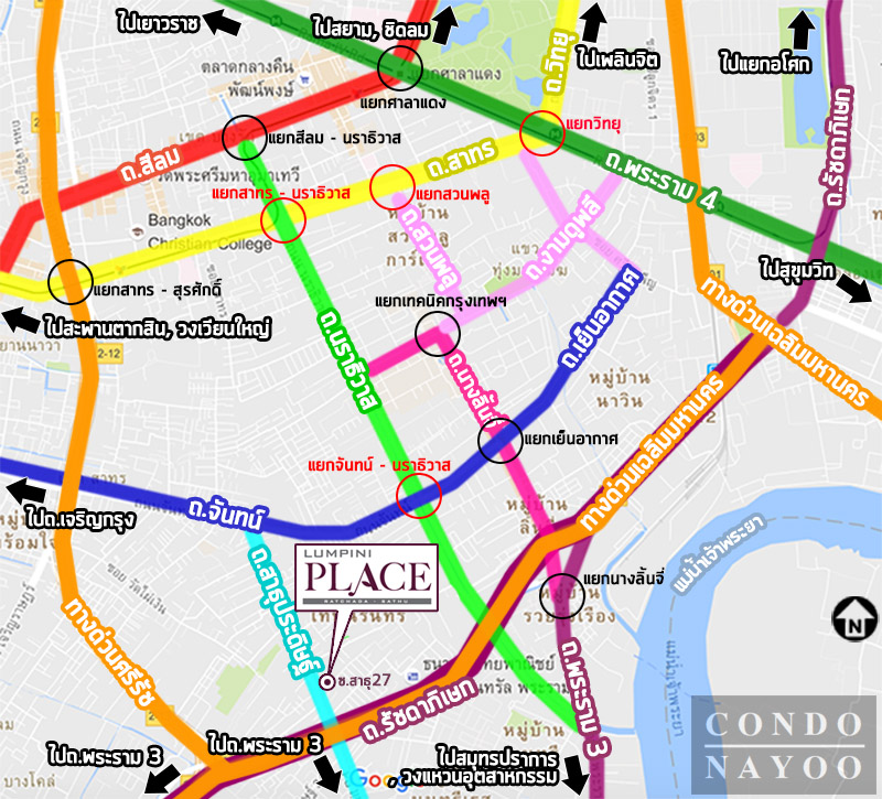 LPN rd-st waymap