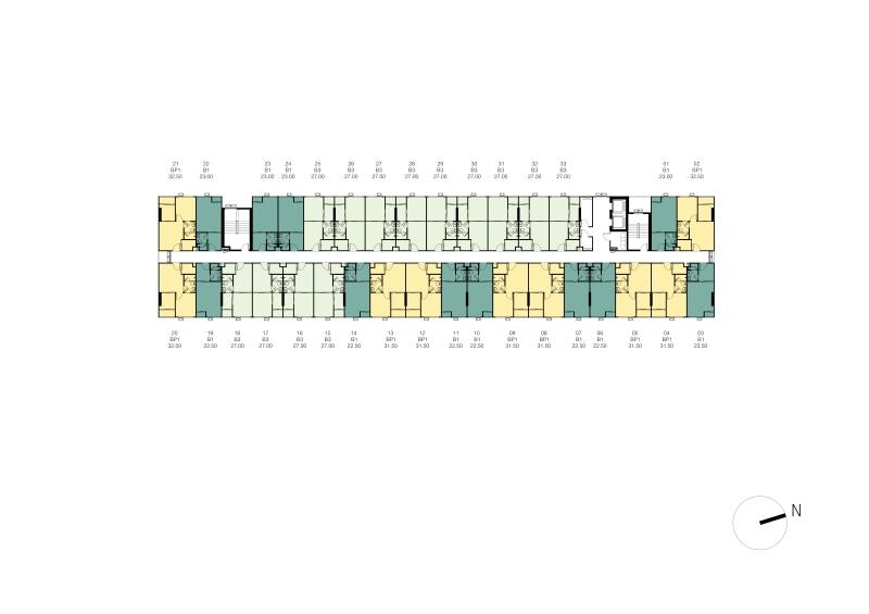 1acxxx003_Tower C Master Plan 4th - 8th Floor Plan-01