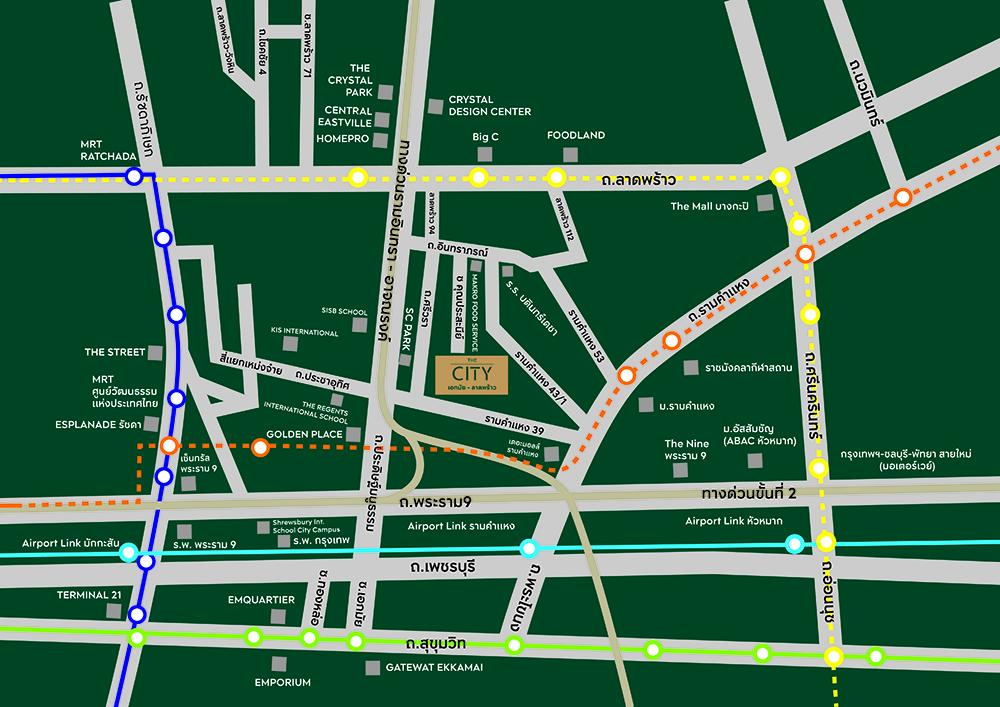 MAP-The-city-เอกมัย-ลาดพร้าว 1408