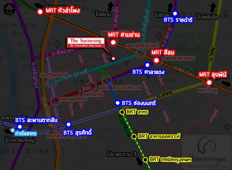 SURA MAP MRT