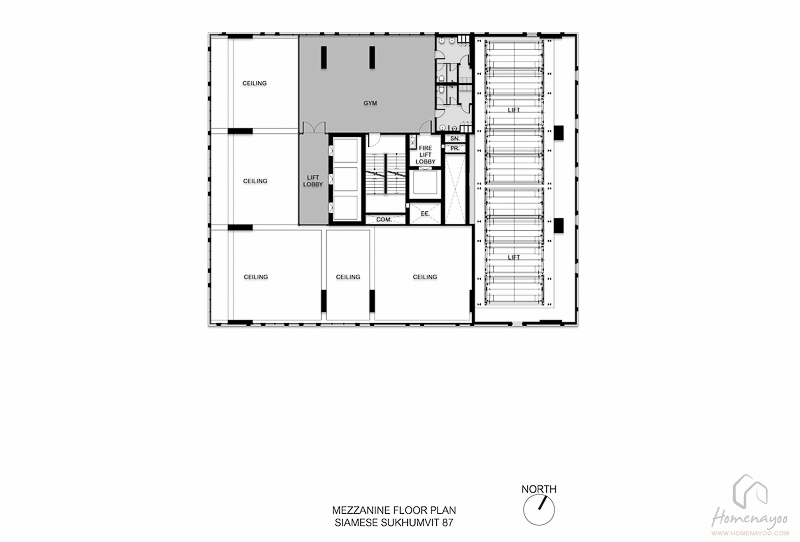 TH066 Mainplan Mezzanine Floor