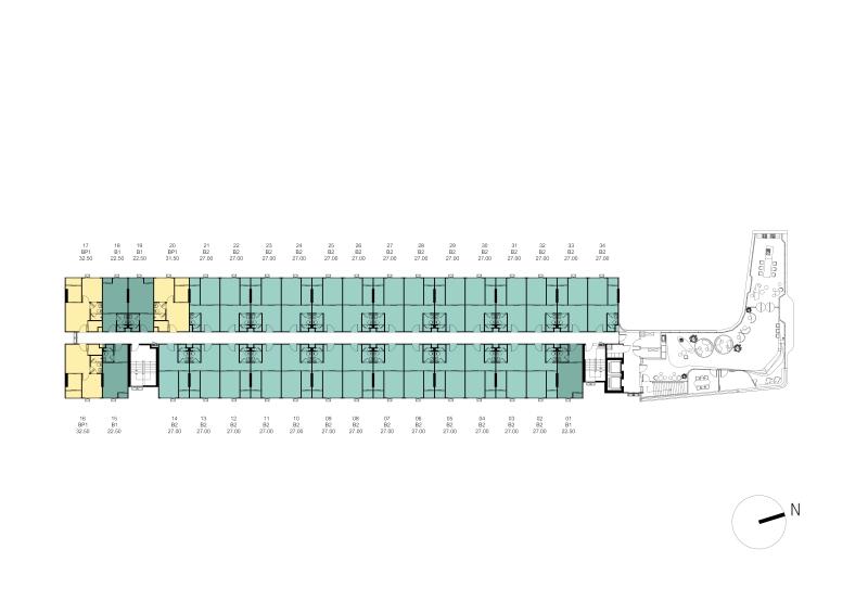 1cxxxTower A Master Plan 3rd Floor Plan