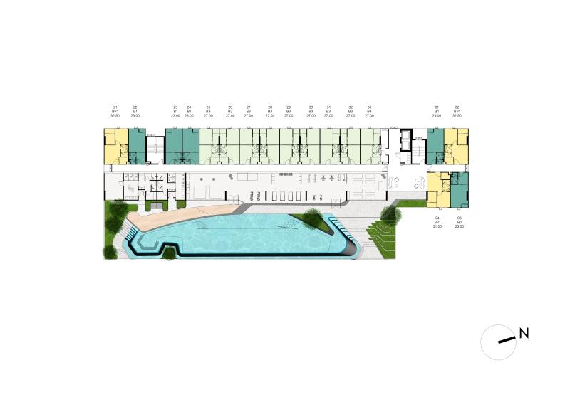1cxxxTower C Master Plan 2nd Floor Plan