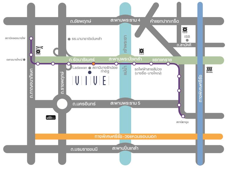 MAP VIVE