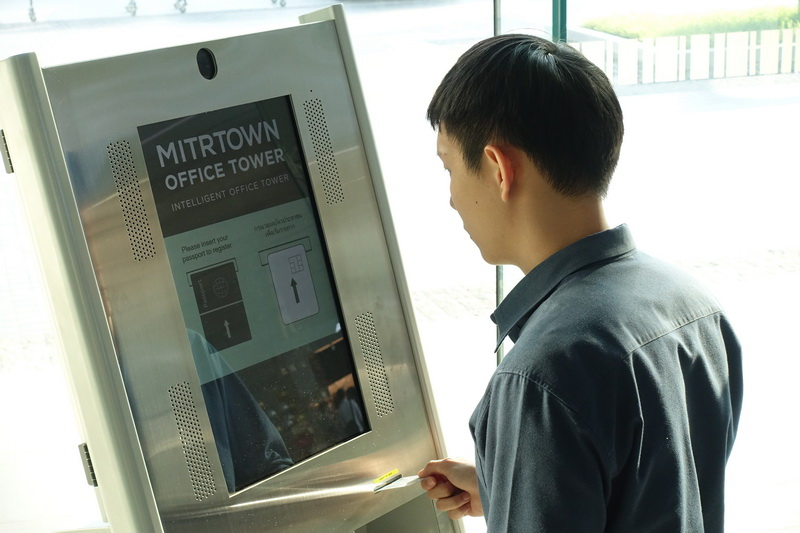 Office_Face Recognition Turnstile Access