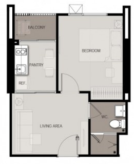 1 Bed 32