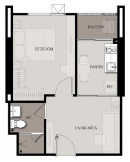 1 Bed 33